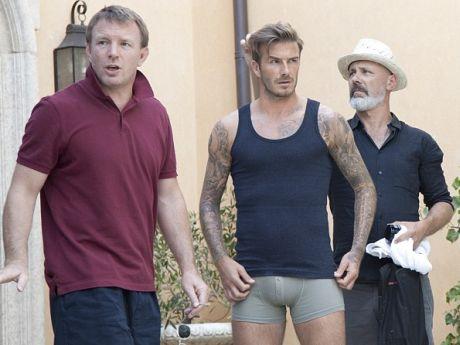 Acusaron A Beckham De Poner Relleno En Sus Calzoncillos En