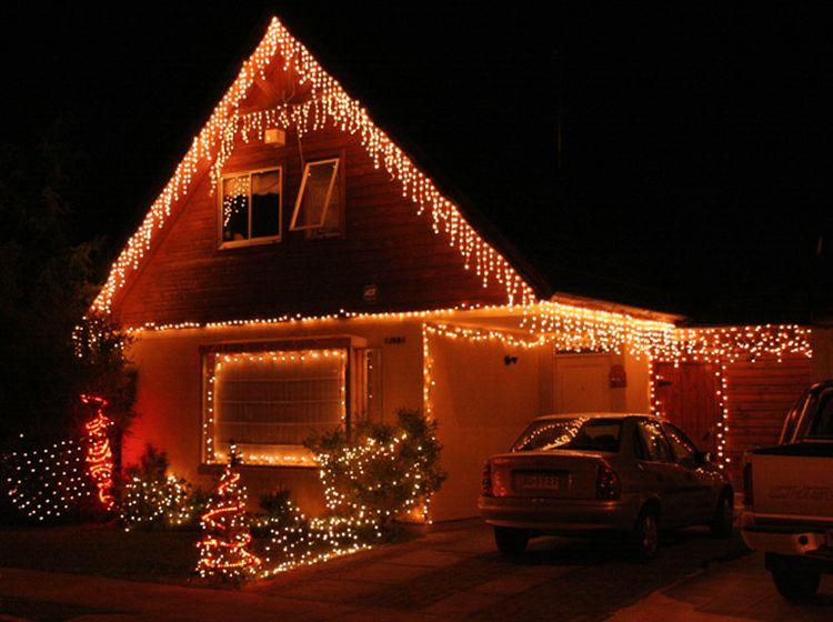 Casa decoradas de navidad home decore inspiration - Casas decoradas en navidad ...
