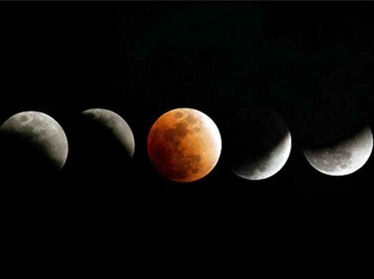 Eclipses 2014 Luna Roja el Eclipse de Luna Roja