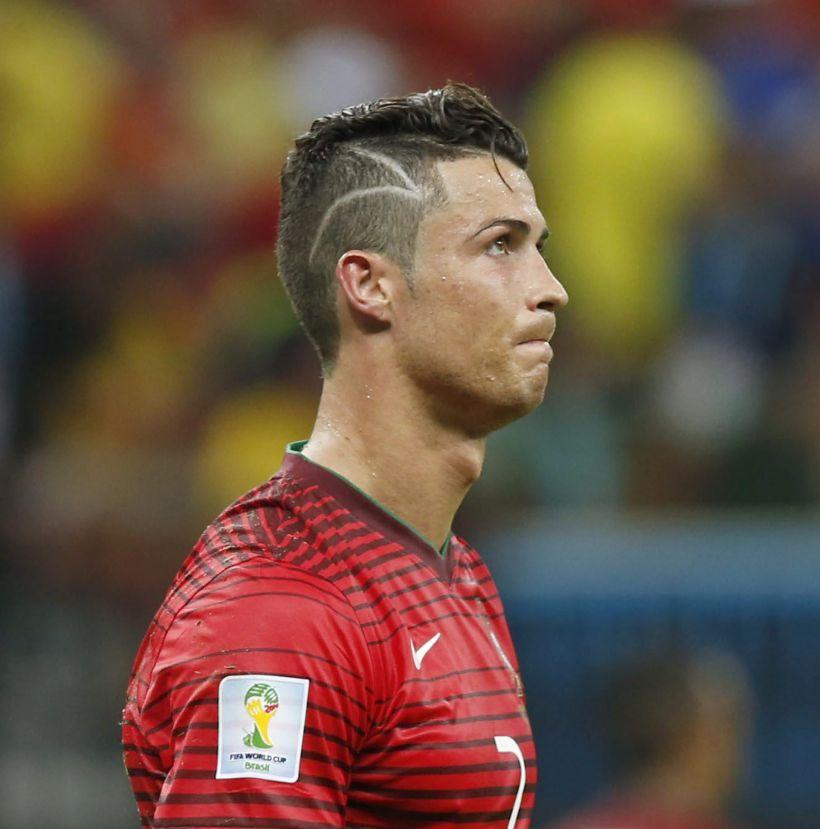 La tierna explicacin al feo corte de pelo de Cristiano Ronaldo