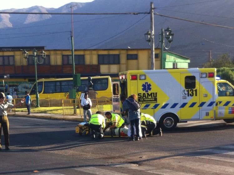 Foto de fantasma en accidente en iquique 62