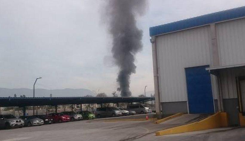 Fuerte explosión en empresa química de Noviciado