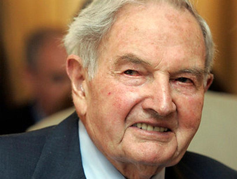 A los 101 años murió David Rockefeller, uno de los hombres más ricos del mundo