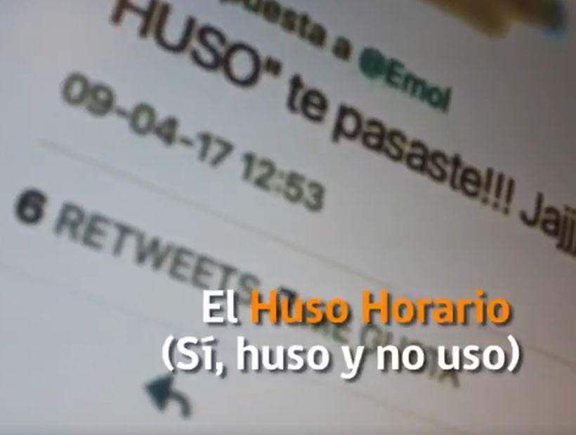 Con troleo a Jorge Zabaleta el Ministerio de Energía anunció el cambio de hora para el 14 de mayo