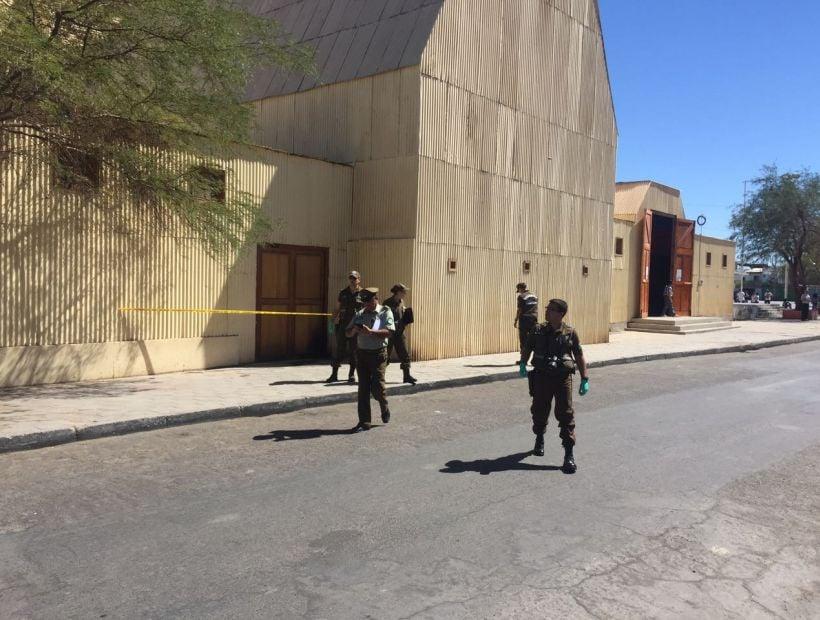 Sacrilegio en La Tirana: desconocidos intentaron incendiar el templo