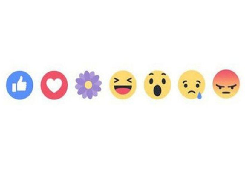 Facebook habilitó la reacción de la flor morada