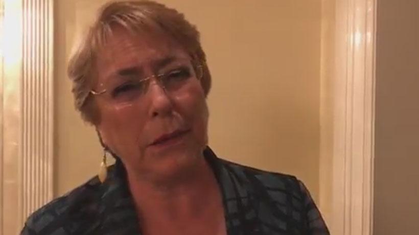 Bachelet envió condolencias a familias de agricultores que murieron en Monte Patria