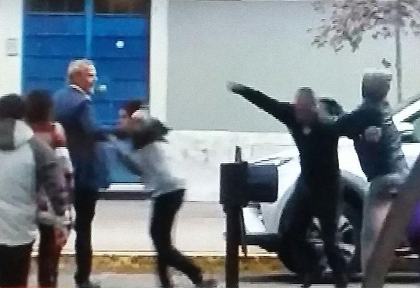 Felipe Kast fue agredido tras la presentación de su programa en el Parque Bustamante
