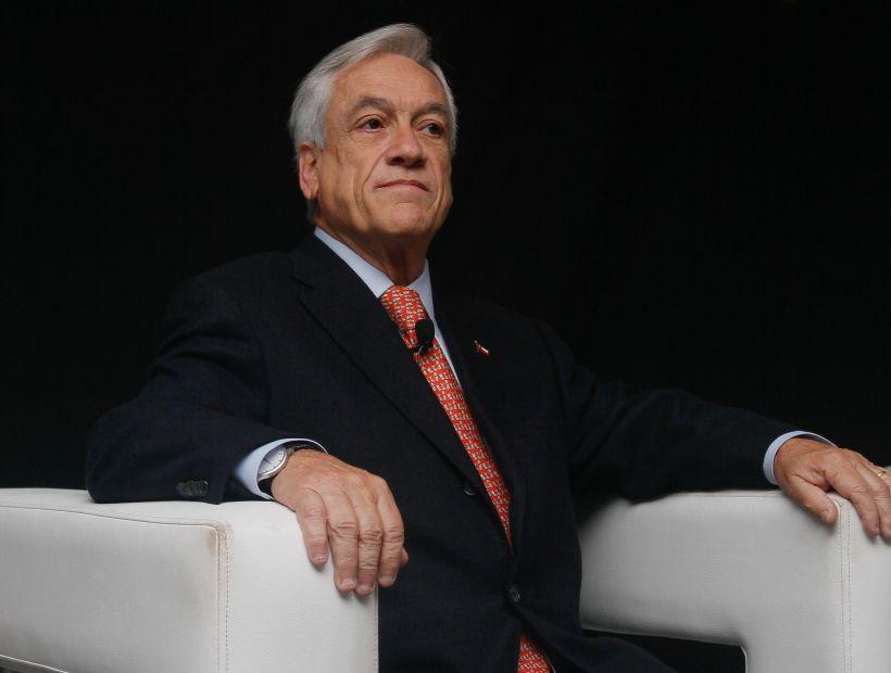 Piñera se excusó de asistir a la comisión investigadora del caso Exalmar