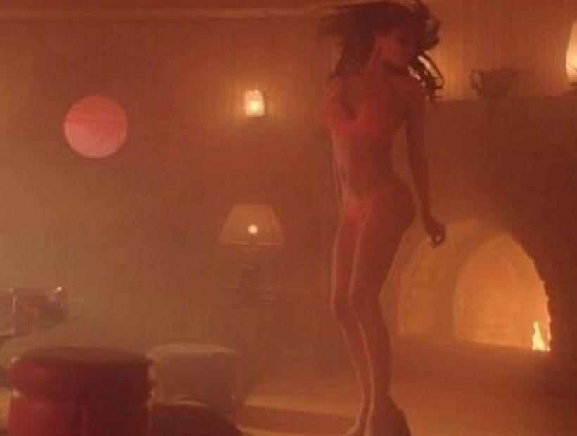 Revelaron las primeras imágenes sensuales de Pampita en film erótico