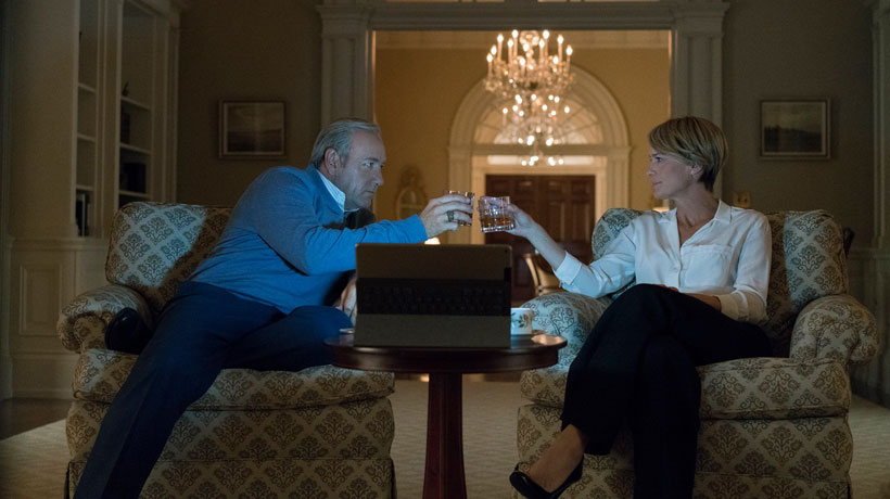 House of Cards: estas son las listas de Spotify de los Underwood
