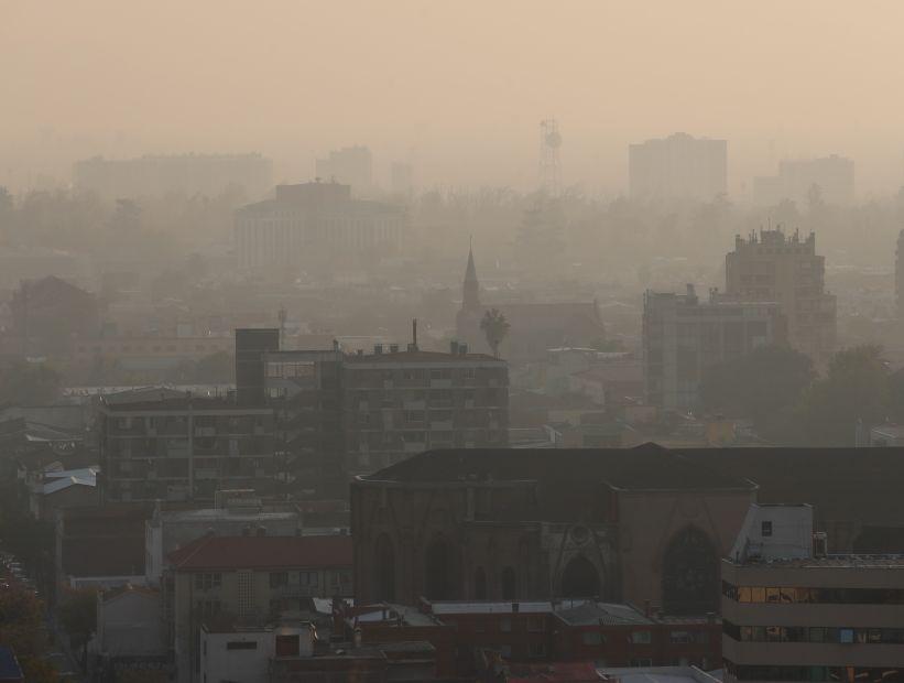 Rige la segunda alerta ambiental consecutiva en Santiago