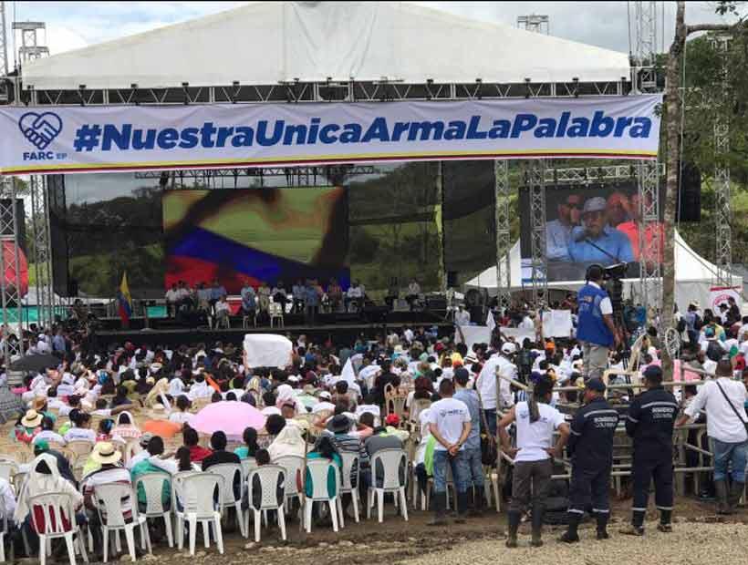 Colombia dio por cerrado el conflicto de más de medio siglo con las FARC