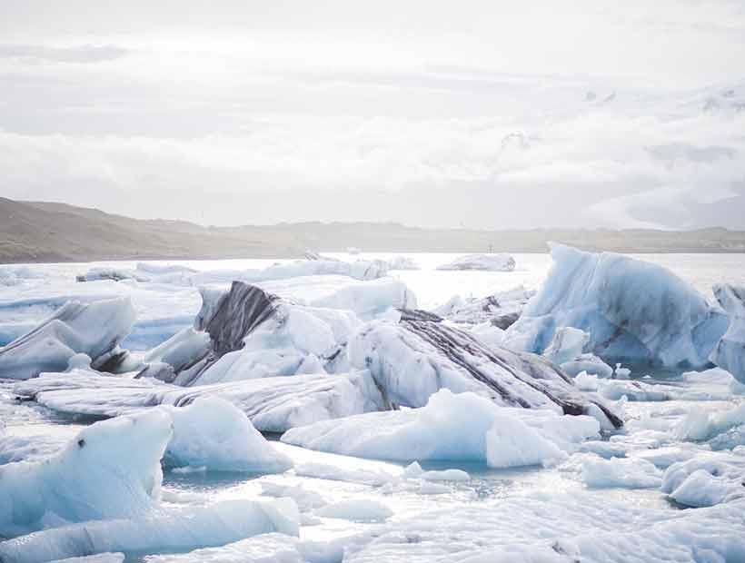 Zonas sin hielo en la Antártida podrían expandirse un 25% hasta 2100