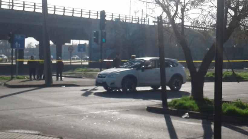 Un hombre fue acribillado al interior de un auto en Cerrillos