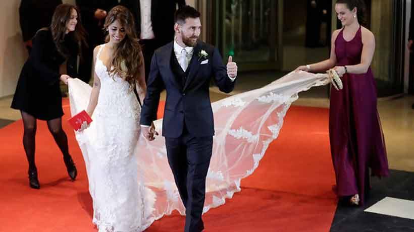 Messi donó los alimentos que sobraron de su matrimonio a entidades benéficas