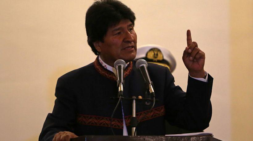 Evo Morales por detención de carabineros: