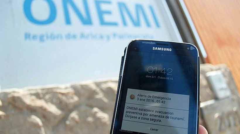 Desde septiembre todos los celulares nuevos recibirán las alertas de emergencia