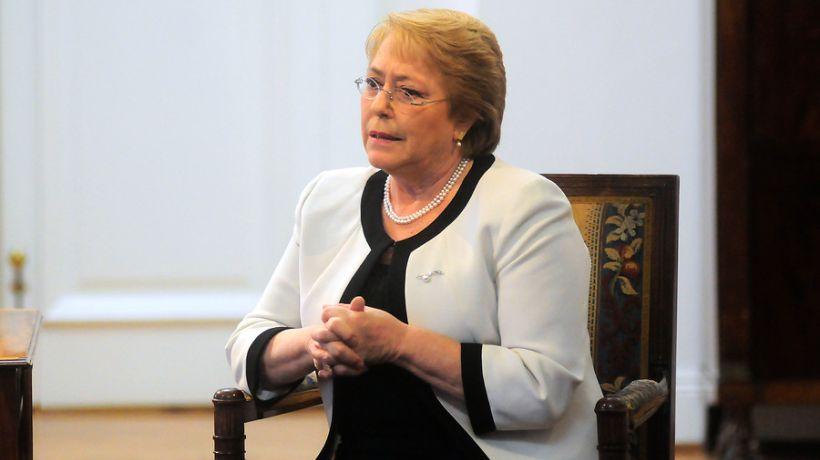 Presidenta Bachelet abogó por una salida pacífica en Venezuela y pidió