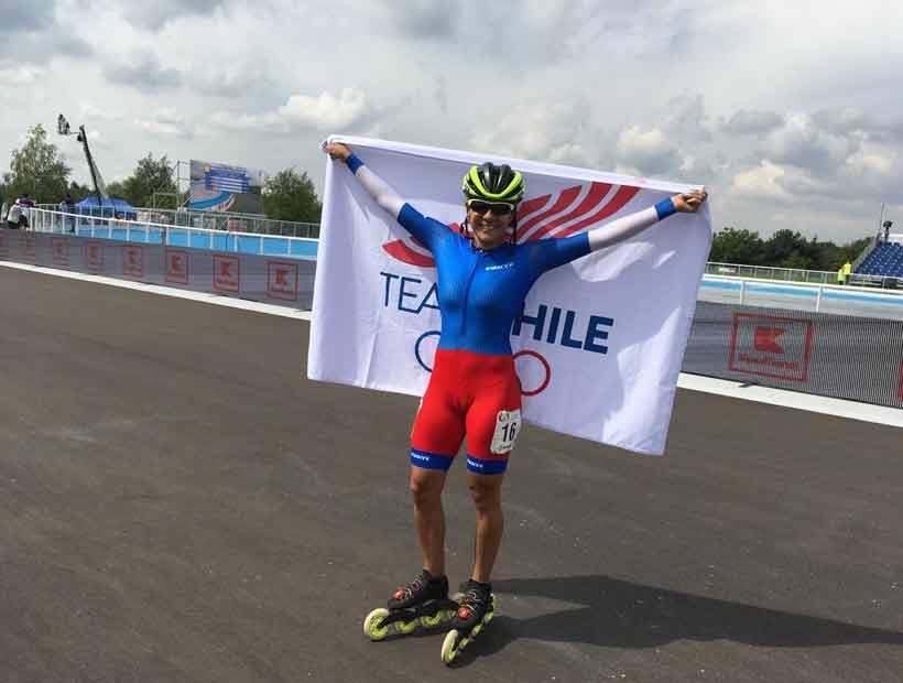 María José Moya logró el primer oro para Chile en los Juegos Mundiales de Polonia