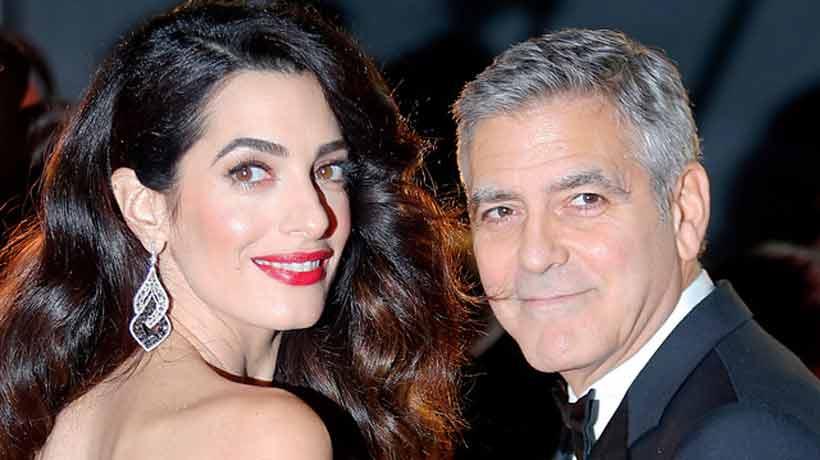 George Clooney demandará a revista por publicar fotos de sus hijos