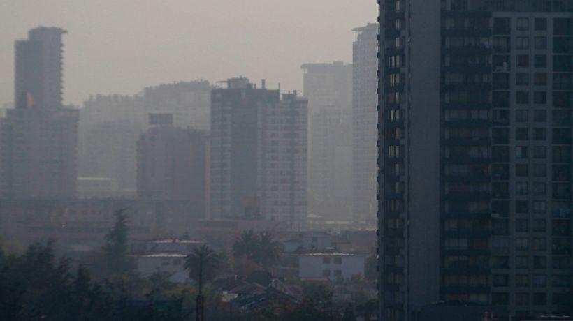 Este lunes habrá nuevamente alerta ambiental en Santiago