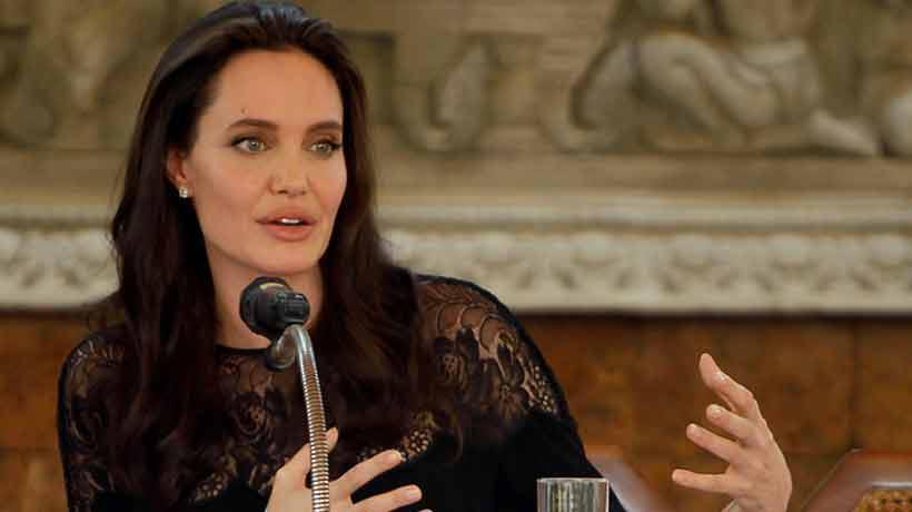 Angelina Jolie negó haberse aprovechado de niños para el casting de su película