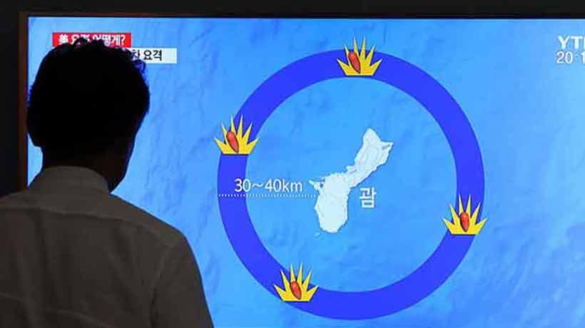 Corea del Norte amenazó con lanzar cuatro misiles a Guam