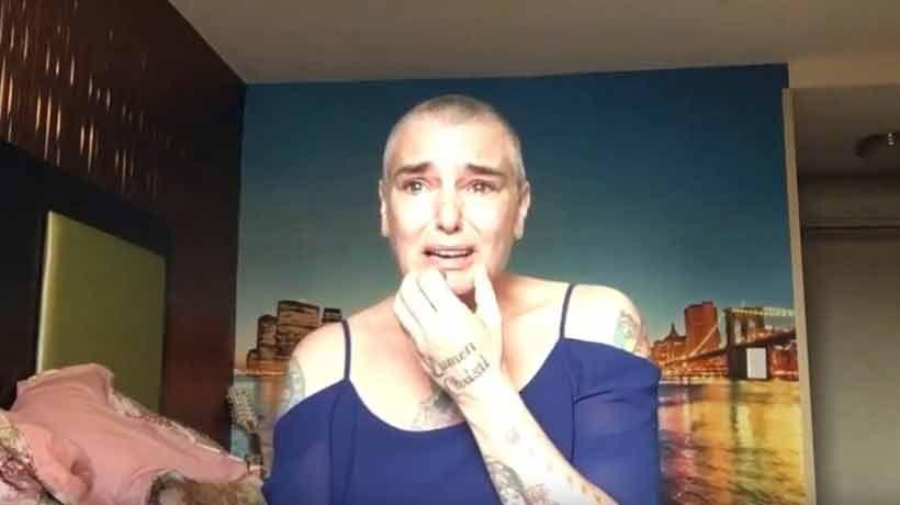 Sinead O'Connor afirmó que recibió atención médica tras polémico video: