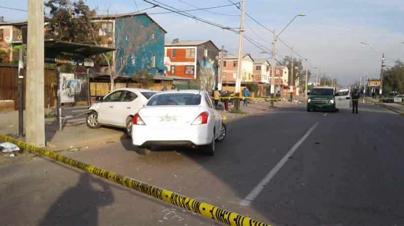 Atropello múltiple dejó cinco heridos en La Pintana