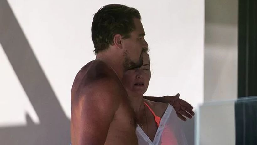 [FOTOS] Revelan imágenes de Leonardo DiCaprio abrazado junto a Kate Winslet en sus vacaciones en Francia