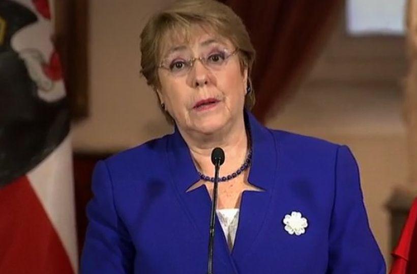 Bachelet destacó que con la ley de aborto