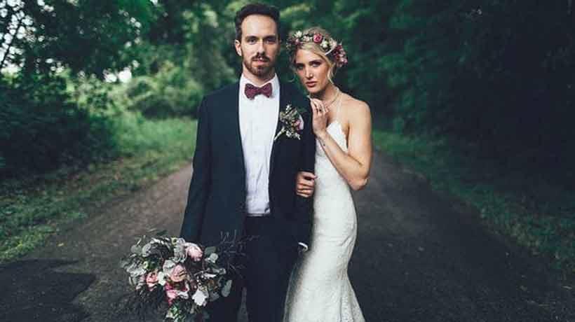 Se casaron 10 años después que ella lo salvara de suicidarse