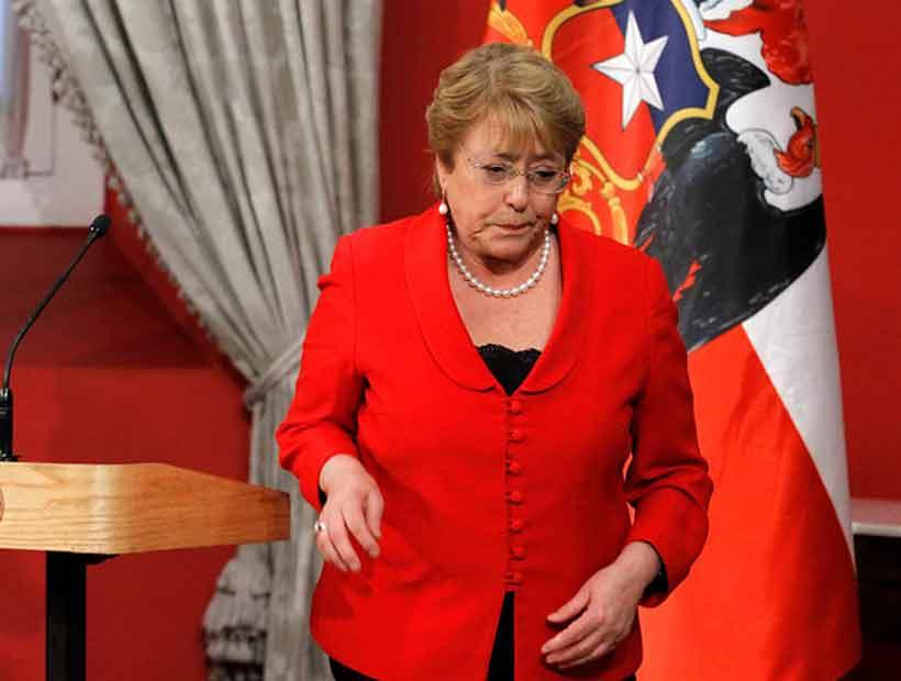 Bachelet dijo que