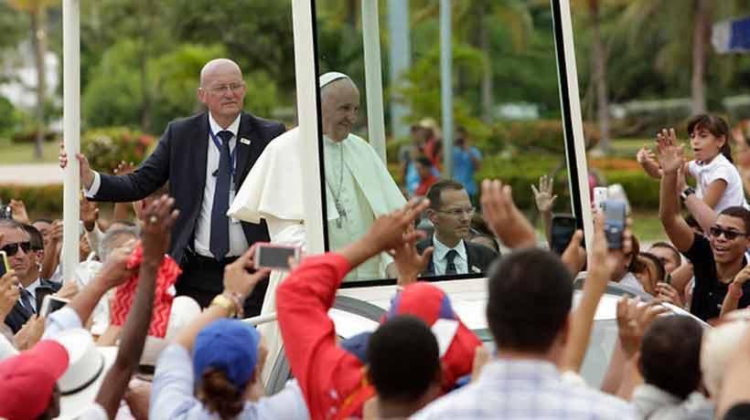 El Papa se movilizará en tres papamóviles reutilizados durante su visita a Chile