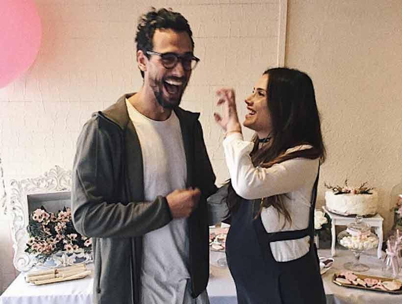 Marcelo Marocchino sufrió al entrar al parto de su hija