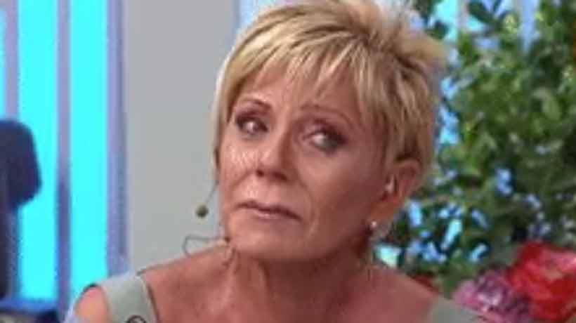 Raquel Argandoña, entre lágrimas: