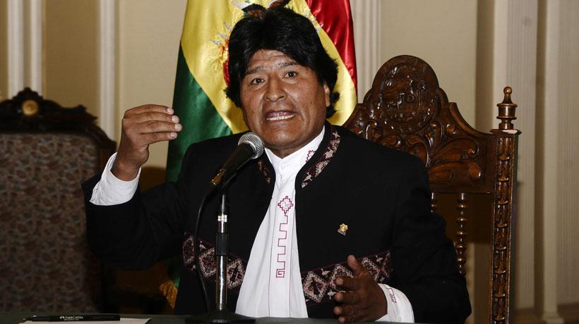 Evo Morales dijo que cantautora