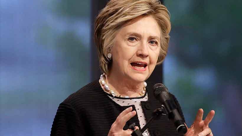 Hilary Clinton comparó a Harvey Weinstein y Trump