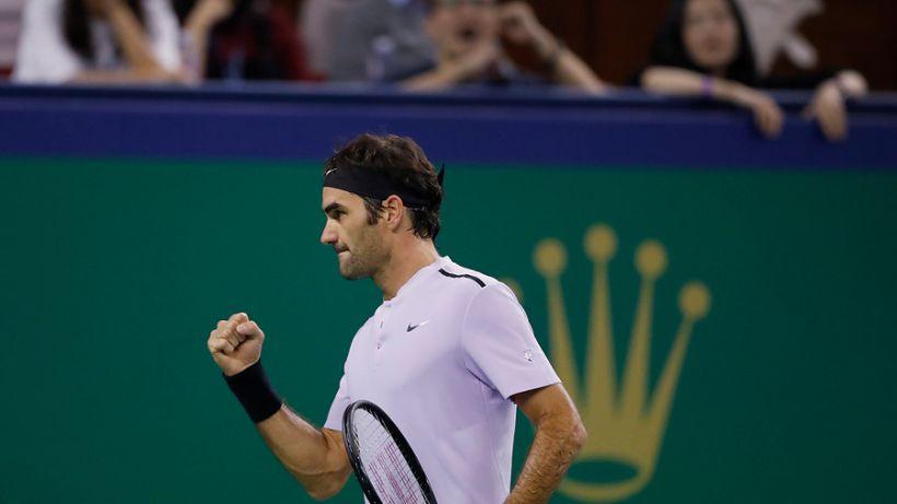 Roger Federer remontó a Del Potro y jugará con Rafael Nadal la final de Shanghai