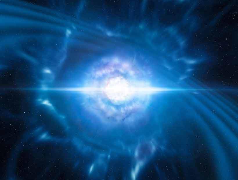 Captaron por primera vez ondas gravitacionales a partir de colisión de estrellas de neutrones