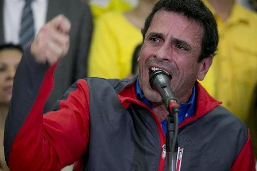 Venezuela: Henrique Capriles advirtió que dejará la alianza opositora