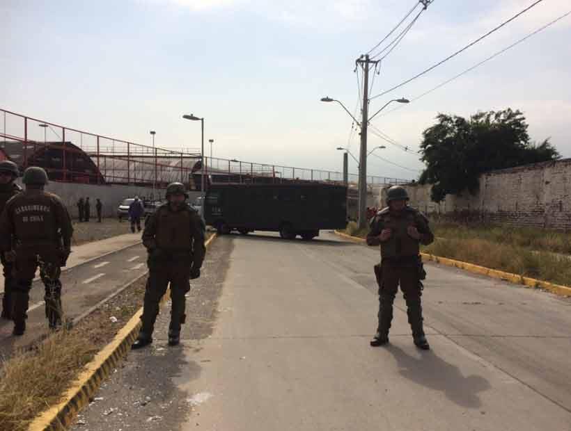 Vecinos de La Legua se oponen a demolición de muro y generan disturbios