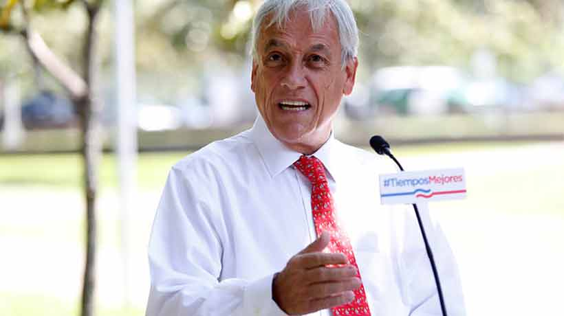 Piñera presenta su nuevo plan de gobierno: costará U$ 14 mil millones