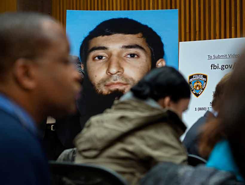 El Estado Islámico identificó al terrorista de Nueva York como uno de sus