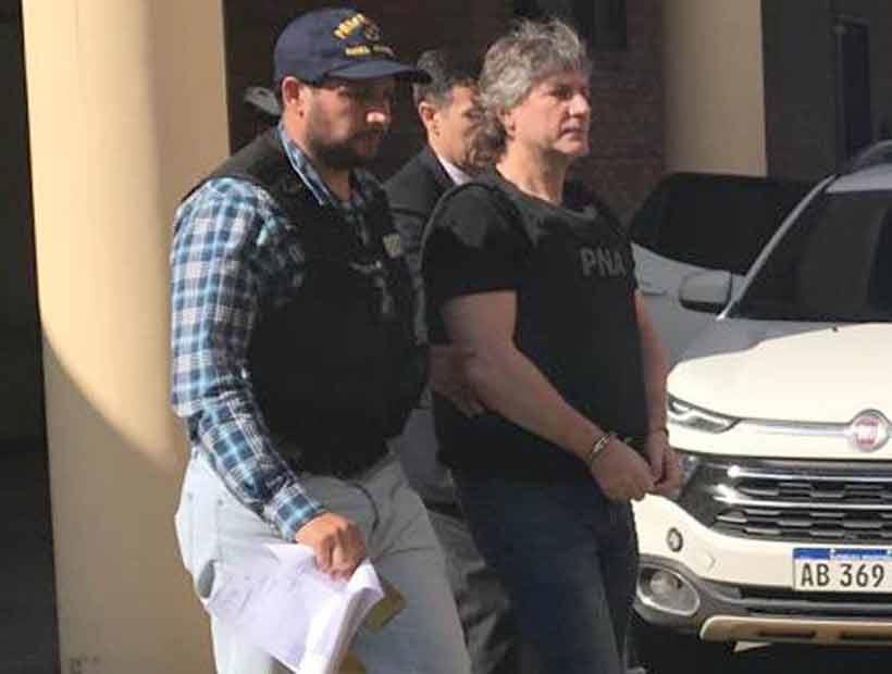 Detuvieron a ex vicepresidente argentino por enriquecimiento ilícito