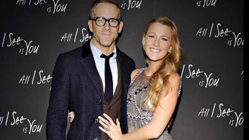 Ryan Reynolds troleó a Blake Lively con una foto poco glamorosa