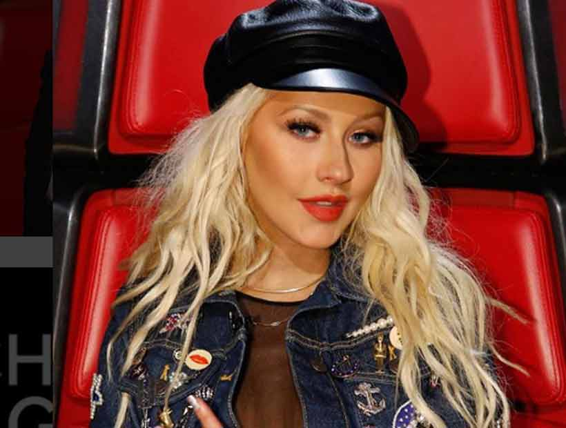 Christina Aguilera lució irreconocible y la criticaron