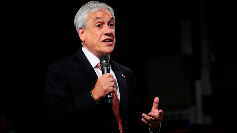 Piñera anunció creación de un