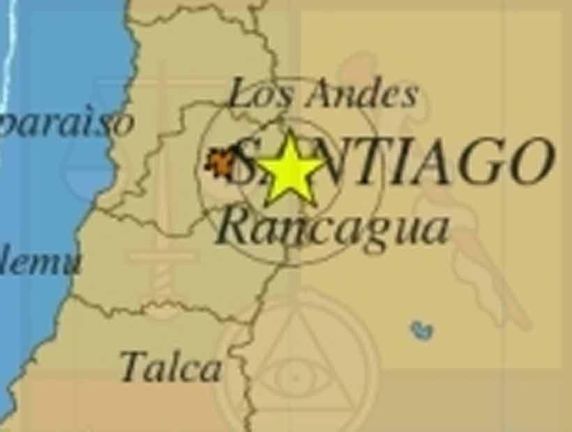 Un sismo de 4,6° Richter se sintió en la zona central